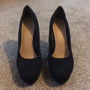 Black Platform Heels